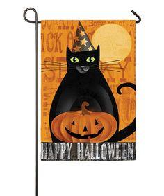 Look what I found on #zulily! Halloween Night Outdoor Flag by Evergreen #zulilyfinds
