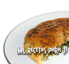Mil Recetas para Ti: Tortilla de chorizo y pimientos asados