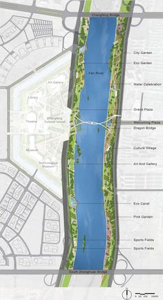 Taiyuan Fen River Waterfront Landscape Design | Tiayuan China | AECOM « World Landscape Architecture – landscape architecture webzine