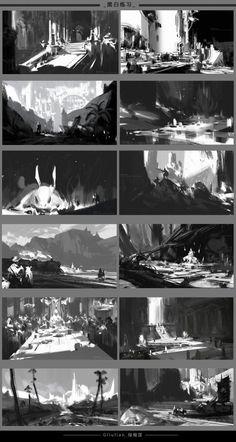 小教程~《型的理解 | 我帮你分析绘画》,根据理解附带了一些快速的小练习。