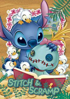 Stitch & Scramp puzzle by Tenyo