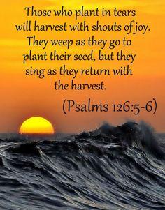 Psalms 126:5-6 NLT