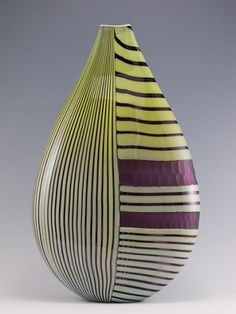 David Calles | 'Pimpollo Teardrop'.  Blown and Carved
