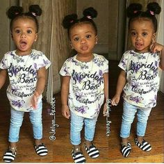 Girls' Looks & Outfits: What To Wear In Summer looks & outfits) Little Girl Outfits, Little Girl Fashion, Kids Outfits, Kids Fashion, Baby Outfits, Toddler Outfits, Little Babies, Cute Babies, Baby Kids