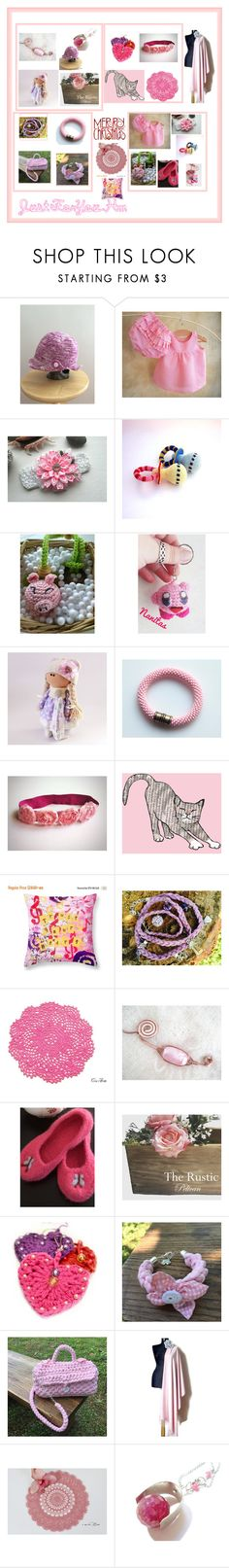 """Merry Christmas in.....pink!!"" by justforyouhm ❤ liked on Polyvore featuring Nintendo and Giro"