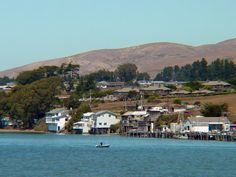 Bodega Bay, CA. Just there in October2912 for Alfred Hitchcock 50th anniversary of 'the bird'. I loved it!
