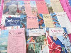 seleções readers digest revistas raras anos 1950 lote 11