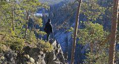 Oulangan kanjoni, Oulangan kansallispuisto, Suomi.  Kuva: Vesa Määttä | Oulanka National Park, Finland - https://en.wikipedia.org/wiki/Oulanka_National_Park