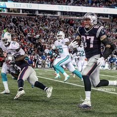 "New England Patriots on Instagram: ""Gronk + huge block by LaFell = touchdown!"""