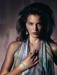 Rosendorff Indulgence Collection Diamond Necklet with Matching Diamond Bracelet and Diamond Earrings