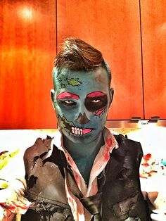 Pop art zombie success #zombie #popart #halloween #cartoon #makeup #costume #epic