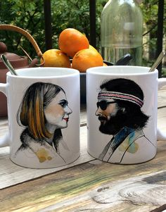 Pack 2 tasses Margot