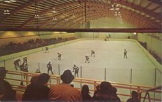 View from stand. Probably late 1970's.