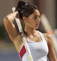 Pole volter Allison Stokke