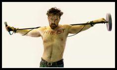 Ricky Gervais is very spiritual.