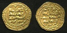 Afghanistan Gold Coin Ghaznavid Dinar 439 AH / 1047 AD Ghazna Mint Shihab al-Dawla abu'l-Fath Mawdud