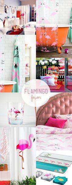 flamingo prints / ikea + H home