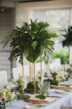 Tropical Wedding Centerpieces, Tropical Wedding Decor, Flower Centerpieces, Flower Decorations, Floral Wedding, Wedding Flowers, Reception Decorations, Event Decor, Deco Floral