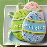 Personalized Easter Egg Cookies...and a few other cute ideas.