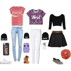 cute outfits for school - Google Search 3603 1205 4 maddie Stewart Cute clothes!!!! Tanja M. Cute outfits, but what's with those silly hats ? :D