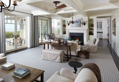 Shingle Style Beach House