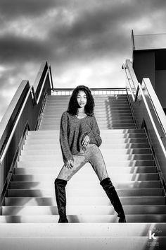 Photographer: Anita Lopez Carreras ⎜Model: Michele Dombouya ⎜ Shot @ Le Studyo K, Switzerland - 2020 Beauty Shoot, White Fashion, Switzerland, Fashion Beauty, Black And White, Model, Outdoor, Racing, Outdoors
