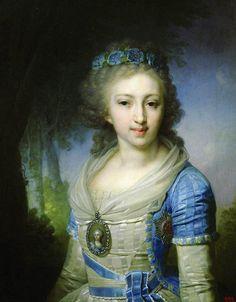 Yelena Pavlovna by Borovikosvky in 1796