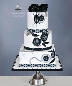 Zulu Wedding by Sandy - Sweet 'n Sassy - http://cakesdecor.com/cakes/294245-zulu-wedding