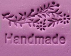 Mini Soap Stamp Mini Soap Seal Polyer Clay Mold DIY Soap Stamp Handmade Soap Stamp