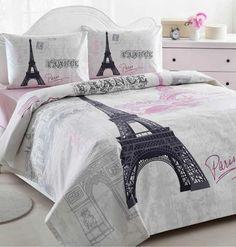 Creative Design Tips For A Paris, Eiffel Tower Bedding Theme