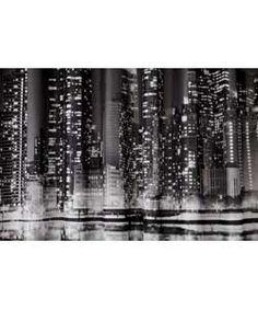 Thumbprintz City Skyline New York Shower Curtain 71 X 74 Home Decor Pinterest Skylines And Curtains