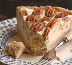 Tarte glacée aux noix de pécan - saveur.com