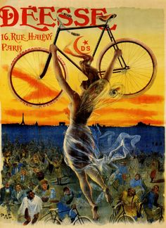 Vintage French bicycle ad