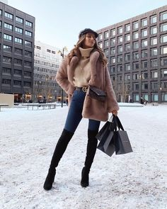cozy winter outfits Cozy Outfit Idea You Need - winteroutfits Winter Outfits Women, Casual Winter Outfits, Winter Fashion Outfits, Classy Outfits, Look Fashion, Stylish Outfits, Fall Outfits, Paris Winter Fashion, New York Winter Outfit