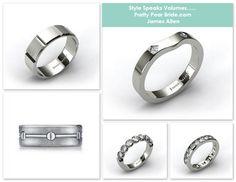 {Wedding Tip Thursday} Tips for Purchasing Wedding Rings | James Allen | Pretty Pear Bride