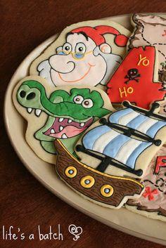 Jake & Neverland Pirates Cookies. | Flickr - Photo Sharing!http://lifesabatch.com/