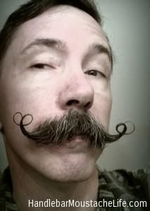 I'm contemplating growing one for poops and giggles- Handlebar Moustache Life Home Page - Handlebar Moustache Life Handlebar Mustache, Beard No Mustache, Mustache Styles, Epic Hair, Hair And Beard Styles, Hair Styles, Epic Beard, Bald Heads, Facial Hair