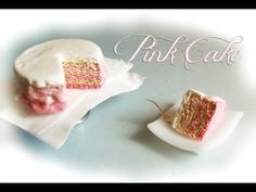 Pink Cake ▪ Tutorial Fimo ▪ Miniature Clay