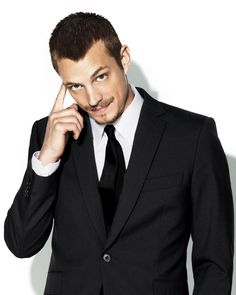 """Joel Kinnaman, """"Bag O Tricks""""  The searching puppy dog look, The Sway, The wide stance, The """"duck feet"""", The Baby Grin, The Peach Fuzz,  The Potential for More."""