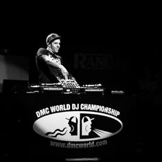 The 2015 DMC World Champion Vekked during his winning set at tonight's final.  #DMC #dj #battle #competition #turntablism #turntables #Technics #Rane #Serato #scratching #vinyl #champion #winner #Vekked #Canada by djshorty79 http://ift.tt/1HNGVsC