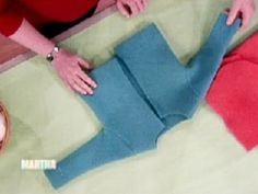 Felted Spring Sweater1 Videos   Crafts How to's and ideas   Martha Stewart