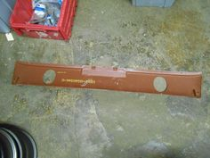 1965 1966 Ford Mustang GT Lower Rear Valance Red Oxide | eBay