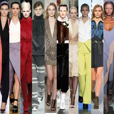 On the catwalk at LVMH Autumn-Winter 2014 Fashion Houses Shows #FW #RTW #AW14 #LVMH