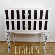 muebles pintado con lunares | ... mueble nuevo, lo cojo con tanto entusiasmo que…