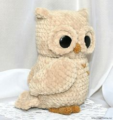 Amazing Home Sewing Crafts Ideas. Incredible Home Sewing Crafts Ideas. Owl Crochet Patterns, Crochet Owls, Owl Patterns, Crochet Animals, Amigurumi Patterns, Crochet Baby, Free Crochet, Amigurumi Doll, Stuffed Toys Patterns