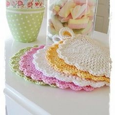 OODLES!!! Free Crochet Potholder Patterns                                                                                                                                                     More                                                                                                                                                                                 More