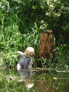Reclusive artist Julian Santana Barrera had been creating his creepy masterpiece for more than 50 years after finding a doll floating in the canal just days after a little girl's body had been fished out of the water.