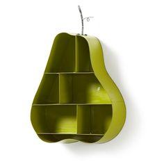 Eloise Wall Shelf in Green Pear shape - La Forma