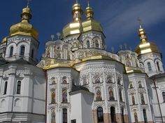 Kyiv Pechersk Lavra  Also known as Kiev Monastery of the Caves, the size of the monastery is more like a small town.  Being a UNESCO World heritage site, this historic Orthodox Christian monastery is full of wonders to behold, from belltowers, cathedrals and underground caves.