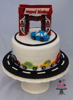 Car wash cakes